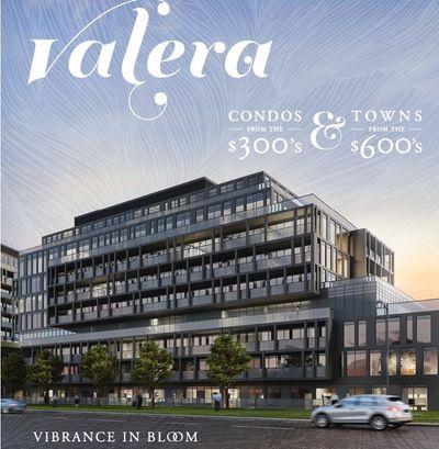 Valera Condos and Towns Burlington Promotion