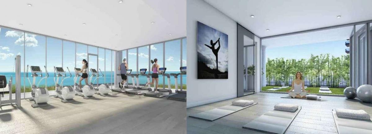 Nautique Condos Gym Health and Wellness