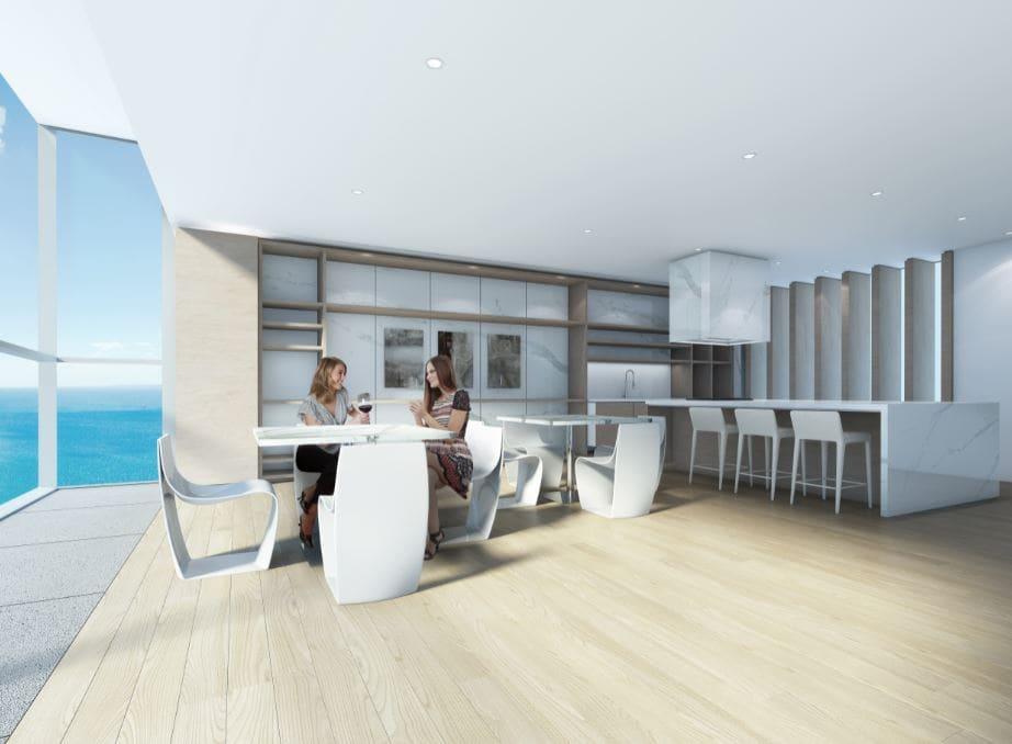 Nautique Kitchen 20th Floor