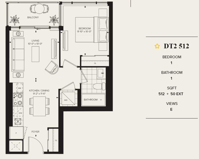 Distrikt Condo Unit for Sale 512