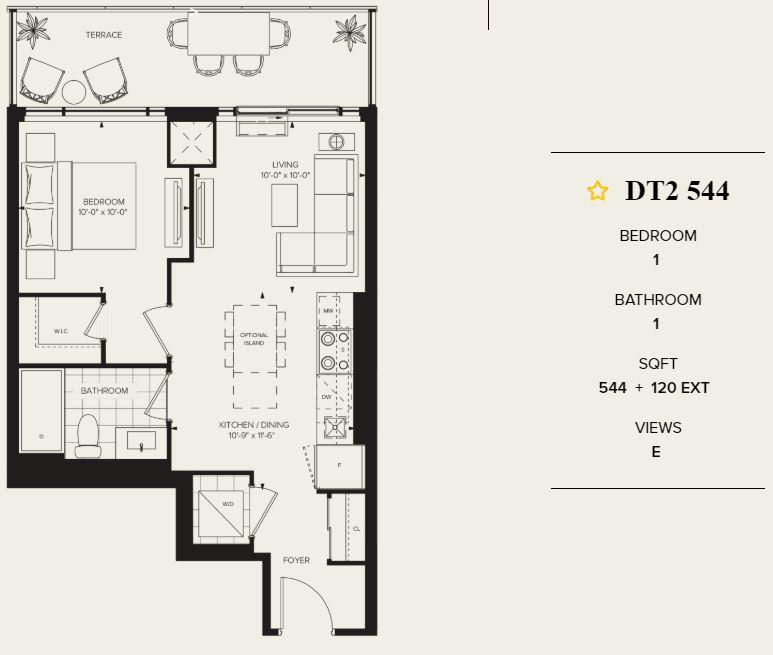 Distrikt Condo Unit for Sale 544