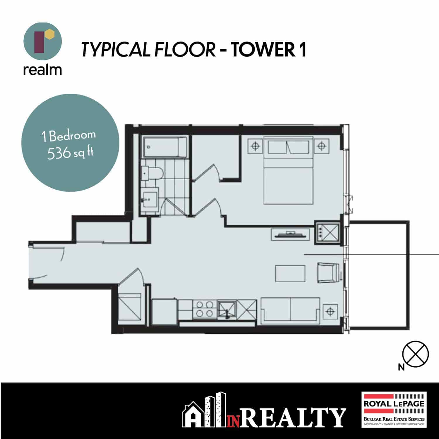 Realm 1 Bedroom