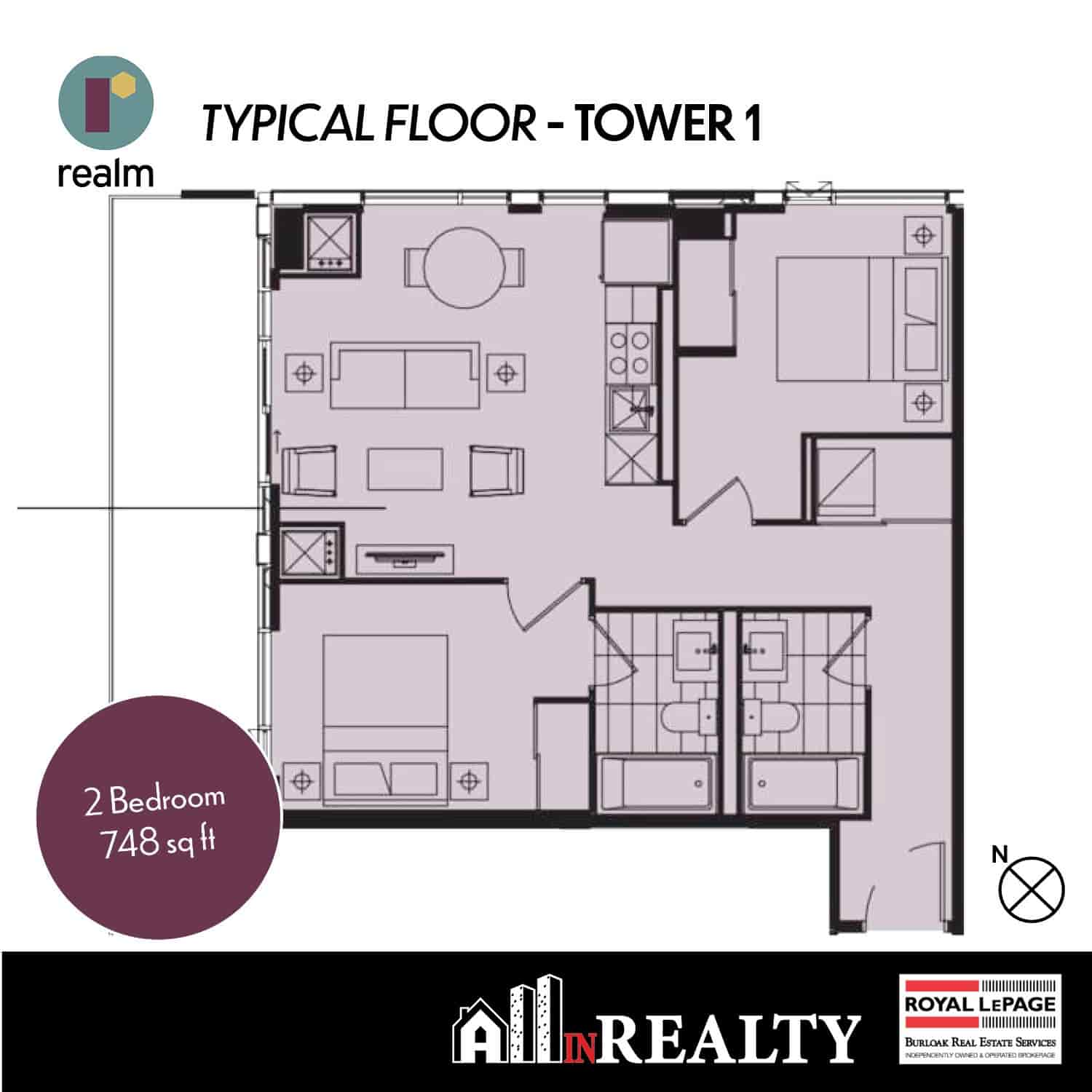 Realm 2 Bedroom
