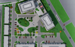 REALM CONDO DEVELOPMENT BURLINGTON ONTARIO SITE PLAN