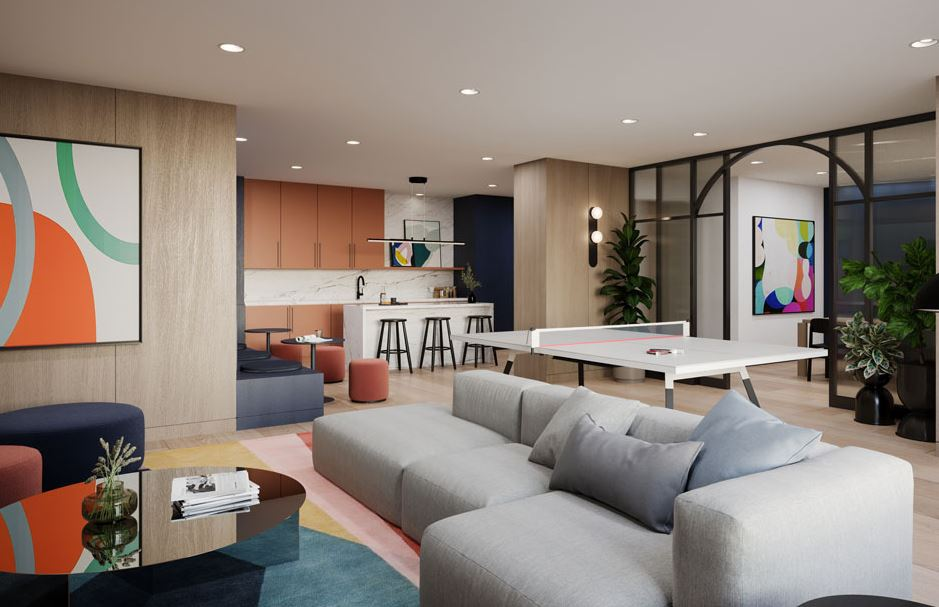 Co-working Lounge Work From Home Space Condos